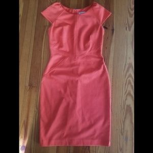 Calvin Klein coral dress
